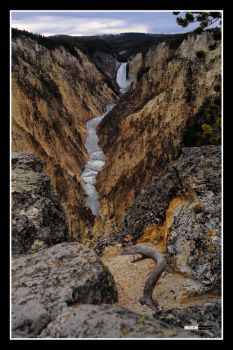 Lower Falls A by Pavloff-Photos