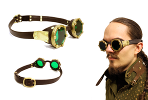 Brass Goggles by Marcusstratus