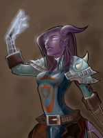 WoW: Draenei by areve