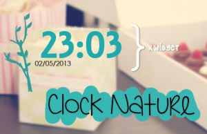 Clock Nature BHR by iBeHappyRawr