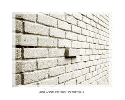 just a brick in the wall by Jabolka