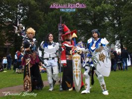 FF XIV ARR Group cosplay 3 by hwaiting