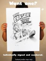 The Eraser Print by Chengui