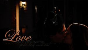 Elena and Damon Wallpaper by McOlussska