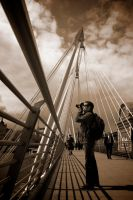 Picturing London Eye by Abylone