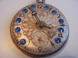 Steampunk watch Necklace by metalmorphoses