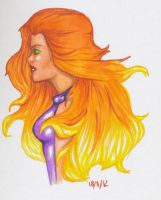 Starfire by Ombre-Lumineuse