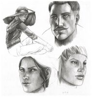 Dragon Age Sketches by OliveArtOlive