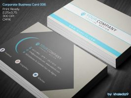 Corporate Business Card 006 by khaledzz9
