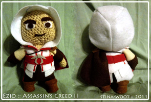 Ezio :: Assassin's Creed 2 by sowo-crafts