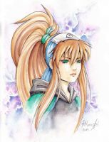 Rii-chan aquarelle 1 by Ritusss