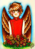 Finch The Flower Child by Gresta-GraceM