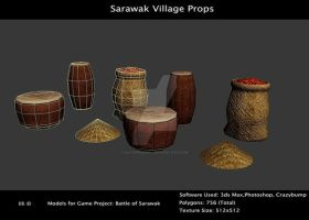 Sarawak Props Details by ILICarrieDoll