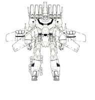 W.I.P  frankenstein_mecha 10  full VF1 IMU by unspacy