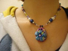 Flower Necklace by Lucky101212