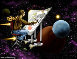 Drawing in space by KaRzA-76