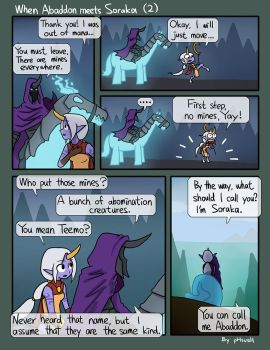 When Abaddon Meets Soraka (2) by phsueh
