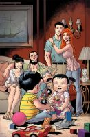 Invincible 79 cover by RyanOttley