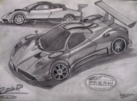Zonda Pagani R by natiwar02