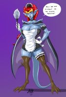 Demona maid by MoDaFUD