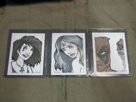 Sketch Cards For Charity by SerenaGuerra