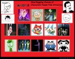Top 13 Characters That people see attractive by TheSucmbagLeeEverett