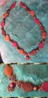 Copper Heart Necklace by Windthin