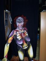 Prothesic makeup 8 by gorkafx