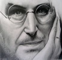R.I.P Steve Jobs by GTzArt