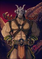 Shao Kahn by IcedEdge
