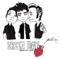 Chibi Green Day by Selik
