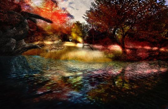 Fall Reflections by ToysoldierThor
