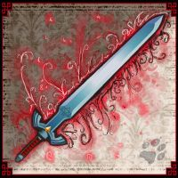 Red Legendary Sword by MyraethCorax