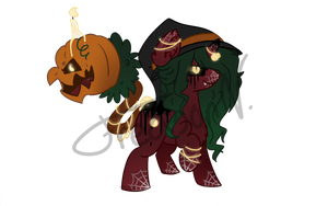 Halloween Cotton Mouth (Auction CLOSED) by FredsonV