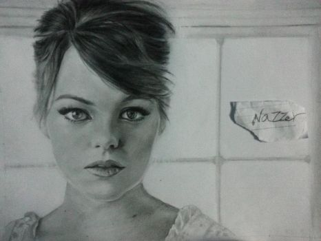 Pencil drawing by me by Nazzer8
