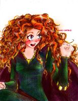 Merida (Brave) by Kami-chama18