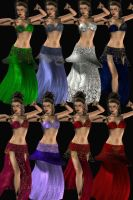 Belly Dance Outfit for V4 by DiYanira