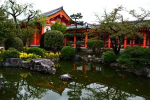Temple Grounds by Youjeen