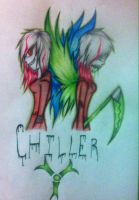 Art Trade: Chiller by XeniaStar