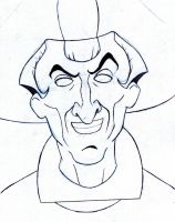 Judge Claude Frollo by PeterNicholson