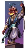 Ifrit Pirate Captain by D-MAC