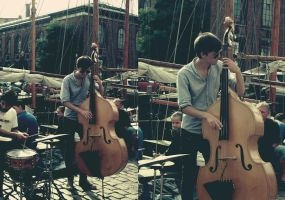 Contrabass guy by Deepblue-shines-on