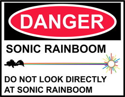 Rainboom Warning by uxyd