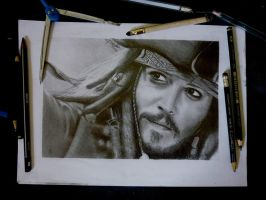 Johnny Depp by Thalis33
