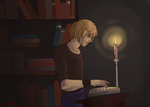 Candle light by PrinceIchi