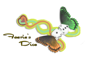 Faeries Dice New Logo by LordNobleheart
