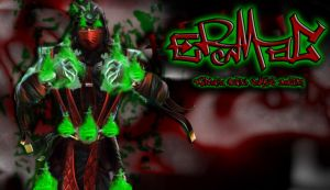 Ermac whit other style by ArcanaHunkCamreKaenz