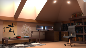 Vray Interior Rendering by JE-proX