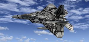 F-22 Starscream Repaint by agnott