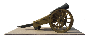 Old cannon by Gedza